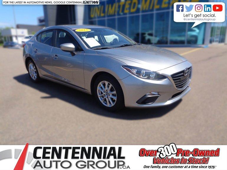 2015 Mazda GS SEDAN MAZDA3 TOURING