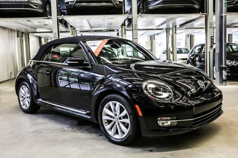 2015 Volkswagen Beetle Convertible Comfortline Xenon+Roues 17 po