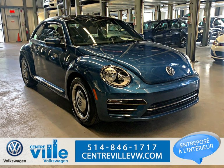 Volkswagen Beetle 2.0T COAST COUPE +CAMERA+BLUETOOTH+SUNROOF-(CLEAN) 2018