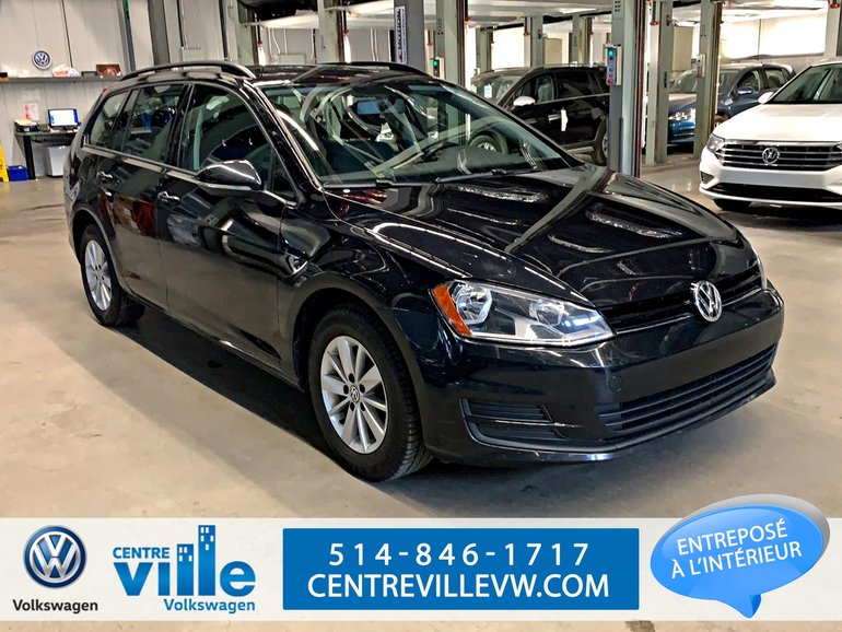 2015 Volkswagen Golf Sportwagon TRENDLINE PLUS + BACKUP CAM (1.8)(MAN)(CLEAN)!!