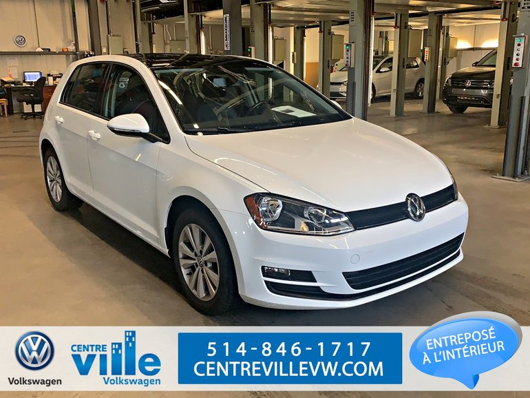 Volkswagen Golf COMFORTLINE +CONVENIENCE PACK+SUNROOF+++(LIKE NEW) 2017