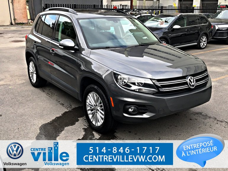 2016 Volkswagen Tiguan SPECIAL EDITION+ PANO ROOF+KESSY+CAMERA (LIKE NEW)