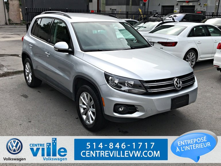 2017 Volkswagen Tiguan WOLFSBURG EDITION 4MOTION+CAMERA+CARPLAY+++LOW KM!