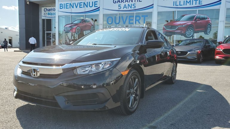 Honda Civic Sedan LX, DEMARREUR, SIEGES CHAUFFANTS, MAGS, BLUETOOTH 2016