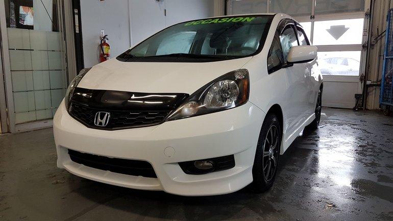 2014 Honda Fit **RÉSERVÉ**Sport, BLUETOOTH, REGULATEUR, A/C, MAGS