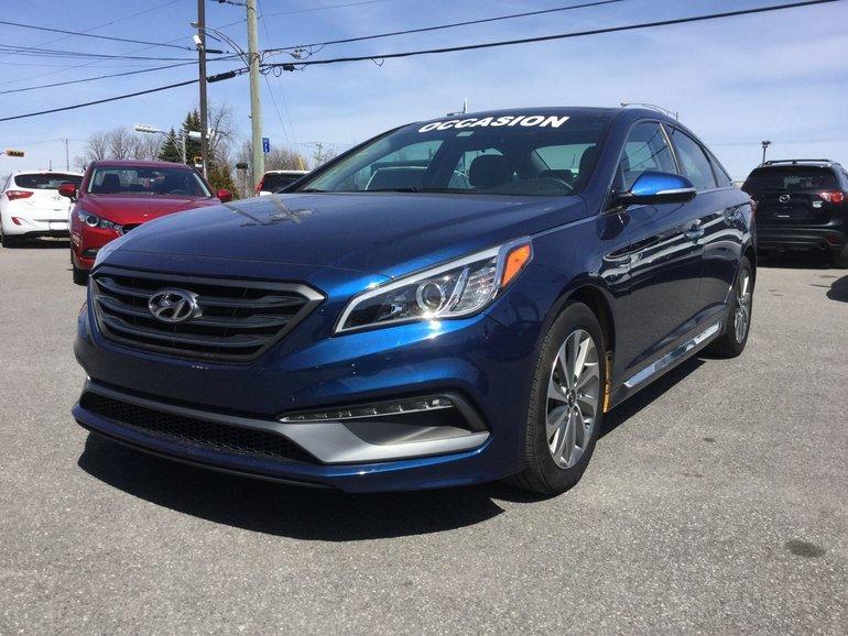 Hyundai Sonata **RÉSERVÉ**, Sport, TOIT, NAVIGATEUR, A/C BIZONE 2016
