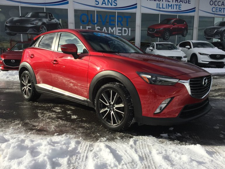 Mazda CX-3 **RÉSERVÉ**,GT, AWD, SIÈGES CHAUFFANTS, NAVIGATION 2016
