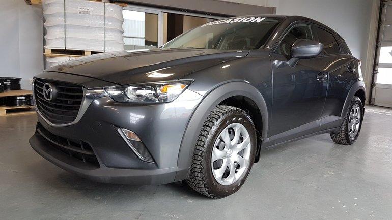 Mazda CX-3 **RÉSERVÉ**,GX, NAVI, DEMARREUR, CAMERA, BLUETOOTH 2017