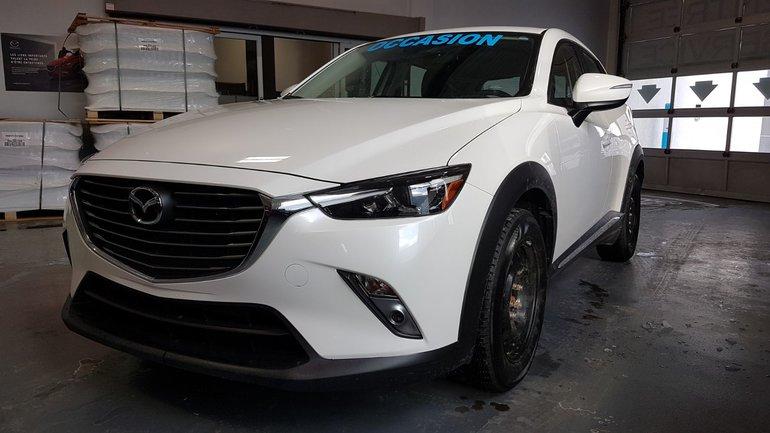 2018 Mazda CX-3 **RÉSERVÉ**,GT, NAV, TOIT, CUIR, SIEGES CHAUFFANTS