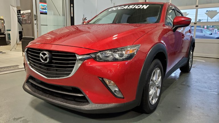 2018 Mazda CX-3 GS, AWD, BLUETOOTH, SIEGES ET VOLANT CHAUFFANTS