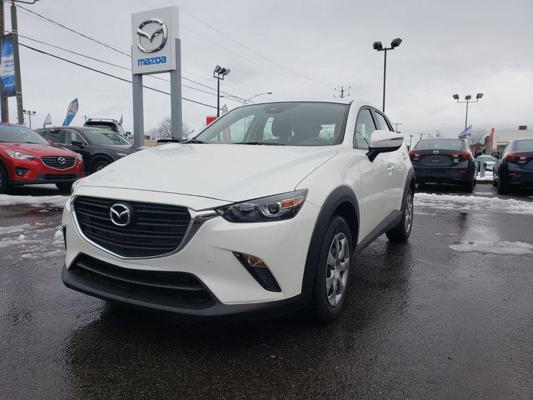 2019 Mazda CX-3 GX||AWD||DÉTECTION D'ANGLE MORT||CAMÉRA DE RECUL