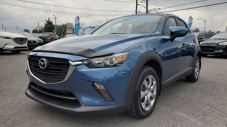 Mazda CX-3 GX, AWD, BLUETOOTH, CAMERA DE RECUL, 2019