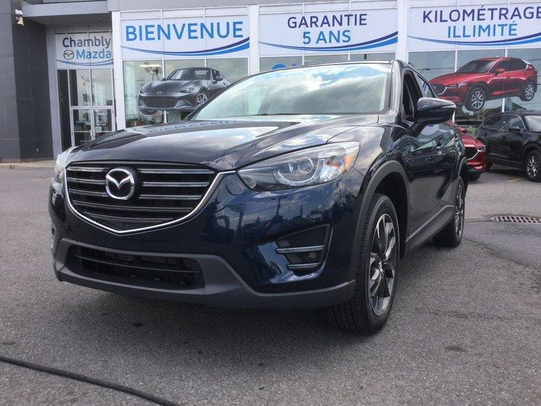 Mazda CX-5 **RÉSERVÉ**, GT, NAVIGATEUR, A/C BIZONE,CUIR 2016