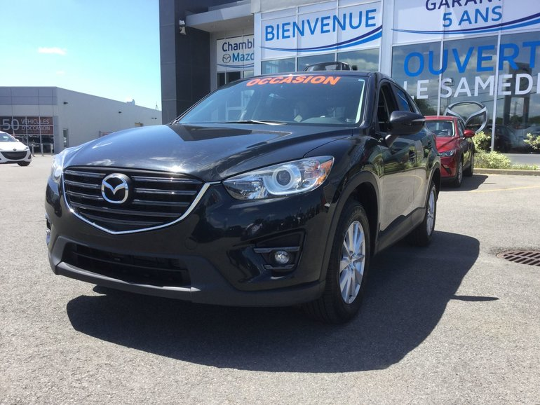 Mazda CX-5 **RÉSERVÉ**, GS, AWD, TOIT, SIEGES CHAUFFANTS 2016