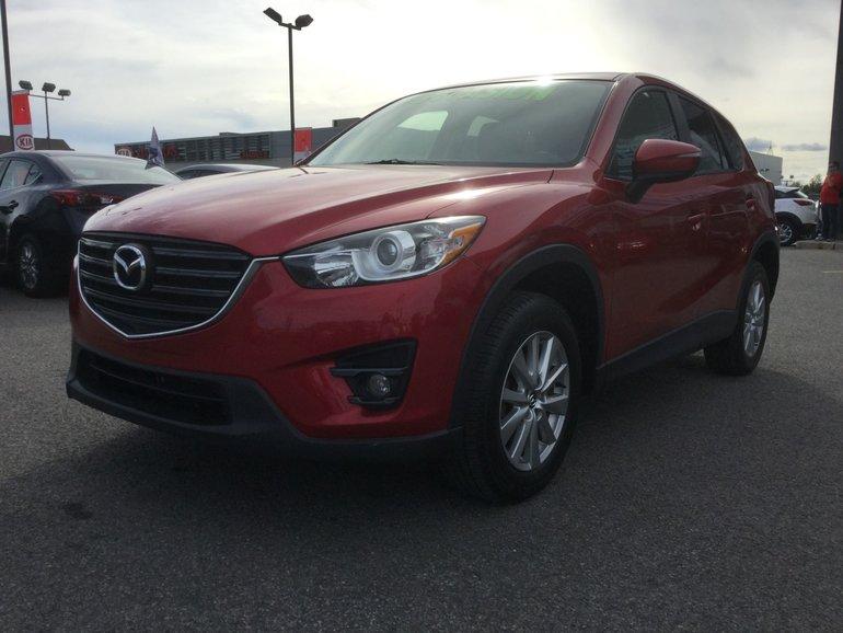 2016 Mazda CX-5 GS, TOIT, SIEGES CHAUFFANTS, BLUETOOTH, MAGS, A/C