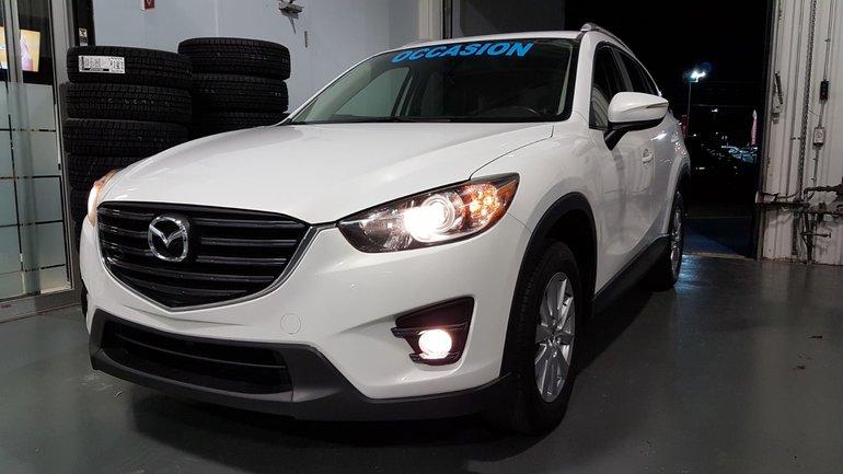 Mazda CX-5 GS, AWD, CUIR, TOIT, SIEGES CHAUFFANTS, BLUETOOTH 2016