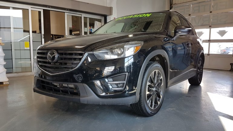 Mazda CX-5 **RÉSERVÉ**,GT, GROUPE TECH, AWD, A/C BIZONE, CUIR 2016