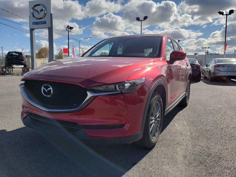 Mazda CX-5 GS//DÉTECTION D'ANGLE MORT//SIÈGE CHAUFFANT 2018