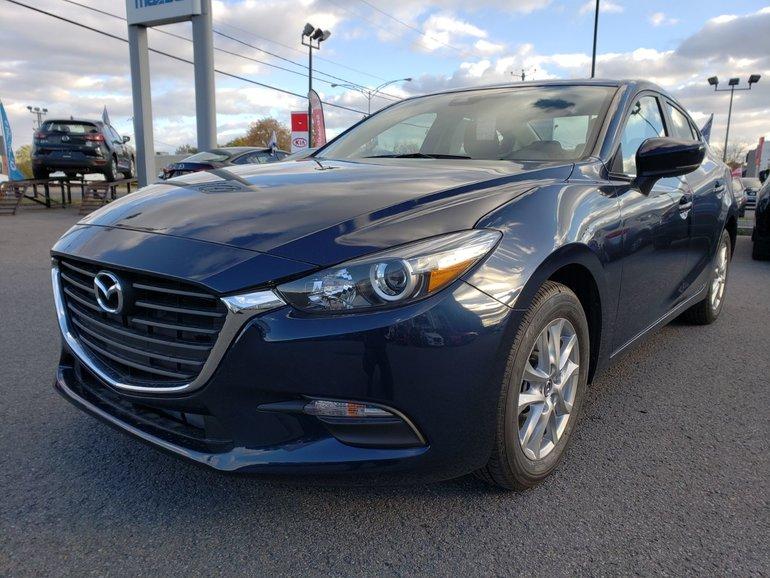 Mazda MAZDA3 GS AUTOMATIQUE//SIÈGE CHAUFFANT//ÉCRAN TACTILE 2018
