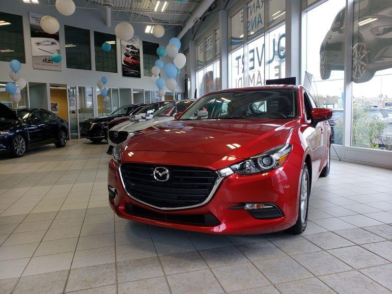 Mazda Mazda3 Sport CAMÉRA DE RECUL, VOLANT CHAUFFANT 2018