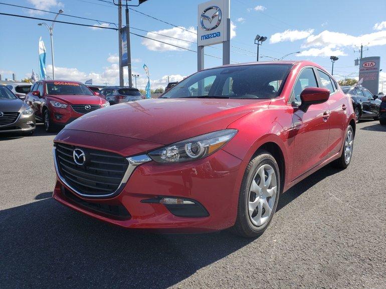 2018 Mazda Mazda3 Sport GX//MANUEL//ÉCRAN TACTILE//CAMÉRA DE RECUL