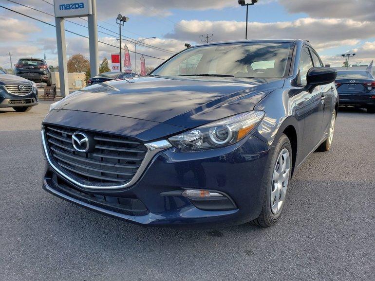 Mazda3 Sport GX//MANUEL//ÉCRAN TACTILE//ALERTE DE TRAFIC 2018