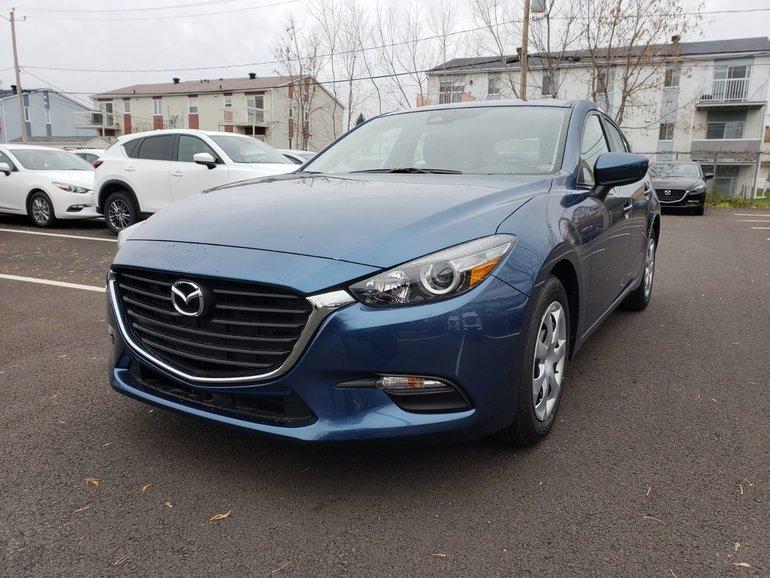 2018  Mazda3 Sport GX//AUTOMATIQUE//ÉCRAN TACTILE//ALERTE DE TRAFFIC