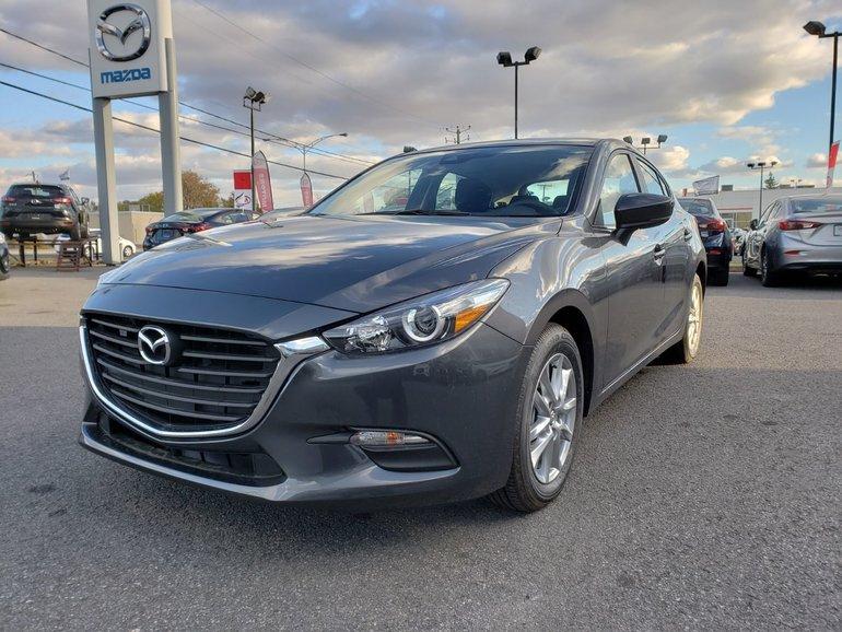 Mazda3 Sport GS||MANUEL||SIÈGE CHAUFFANT 2018