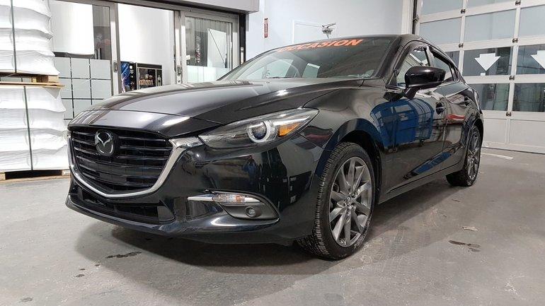 Mazda3 Sport **RÉSERVÉ**, GT, GROUPE TECH ET PREMIUM, NAV, CUIR 2018
