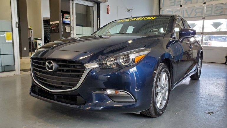 Mazda3 Sport **RESERVE**, GS, VOLANT ET SIEGES CHAUFFANTS, 2018