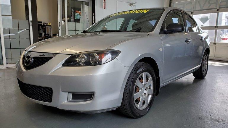 Mazda3 ***RÉSERVÉ***A/C, ECONOMIQUE 2007