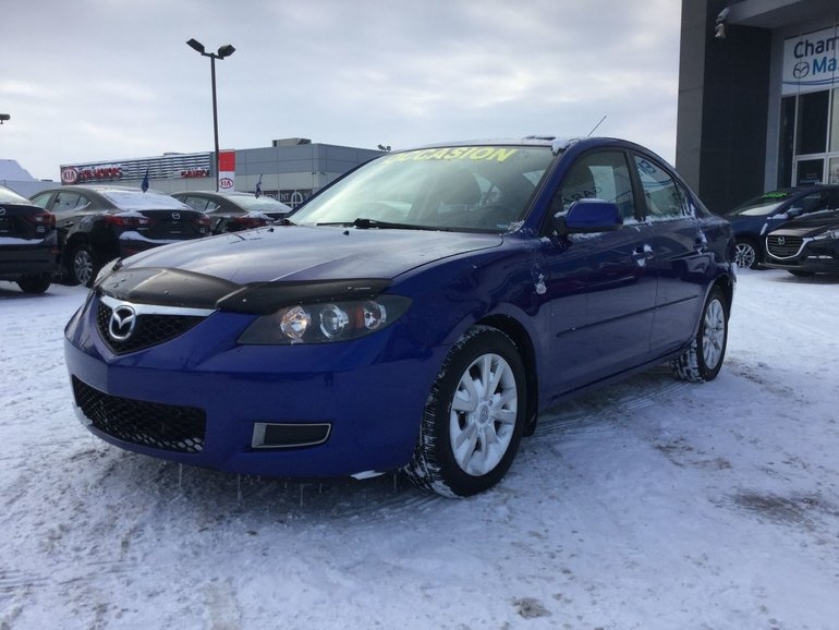 Mazda Mazda3 TOIT, MAGS, RÉGULATEUR, A/C, GROUPE ÉLECTRIQUE 2008