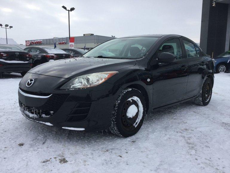 Mazda Mazda3 **RÉSERVÉ**, BLUETOOTH, RÉGULATEUR, GR ÉLECTRIQUE 2010