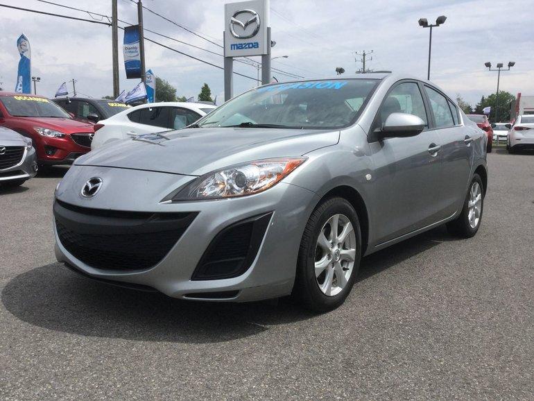 Mazda Mazda3 **RESERVÉ**TOIT, BLUETOOTH, MAGS, A/C, RÉGULATEUR 2010
