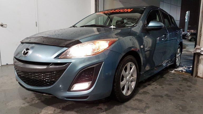 Mazda3 **RÉSERVÉ**, BLUETOOTH, MAGS, REGULATEUR, A/C 2010