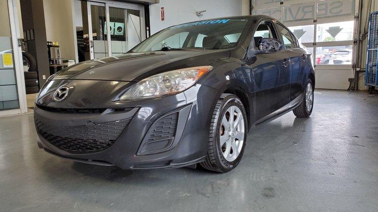 2011  Mazda3 **RÉSERVÉ**GX, 118000 KM, MAGS, GROUPE ÉLECTRIQUES