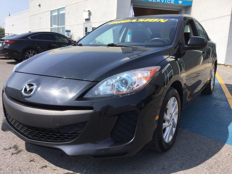 Mazda Mazda3 **RÉSERVÉ**, GS-SKY, JAMAIS ACCIDENTÉ 2013