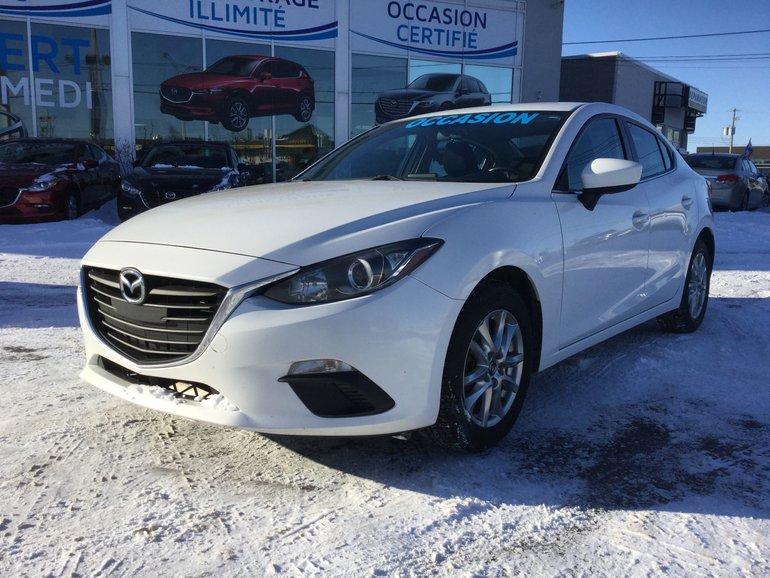 Mazda Mazda3 GS SIEGES CHAUFFANTS, CAMERA DE RECUL, 2014