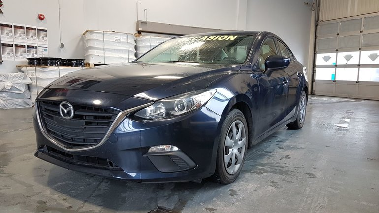 Mazda Mazda3 GX-SKY, A/C, BLUETOOTH, COMMANDE AUDIO VOLANT 2014