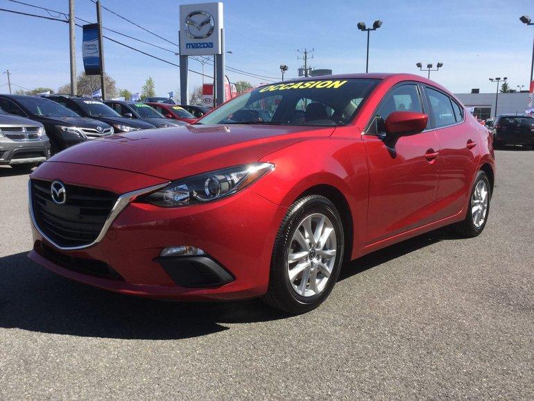Mazda Mazda3 GS-SKY, SIEGES CHAUFFANTS, BLUETOOTH, CAMERA, A/C 2014
