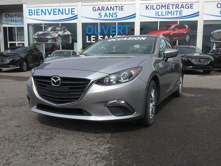 Mazda Mazda3 GS-SKY, CAMERA RECUL, BLUETOOTH 2014