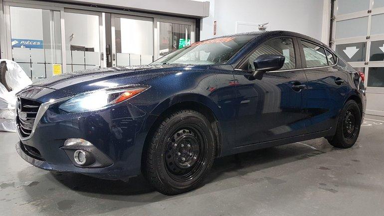 Mazda3 **RÉSERVÉ**, GT-SKY, A/C BIZONE, NAVIGATEUR, TOIT 2014