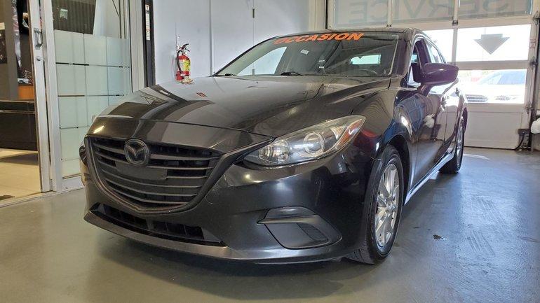 2014  Mazda3 GS-SKY, BLUETOOTH, CAMERA, MAGS, A/C, REGULATEUR