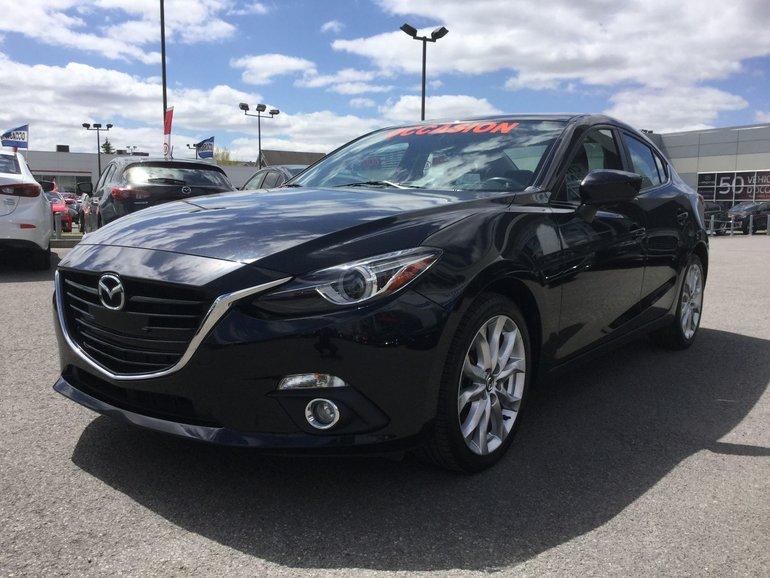 Mazda Mazda3 ***RÉSERVÉ***GT, SYSTEME BOSE, NAVIGATEUR 2015