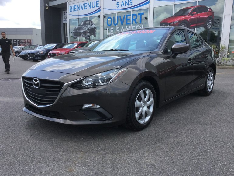 Mazda Mazda3 **RÉSERVÉ**GX,, A/C, GROUPE ELECTRIQUE 2015