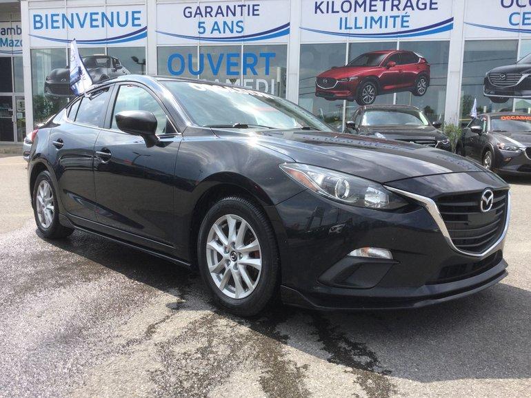 Mazda3 **RÉSERVÉ**,GS,KIT DE JUPE AREO,  MAGS, RÉGULATEUR 2015
