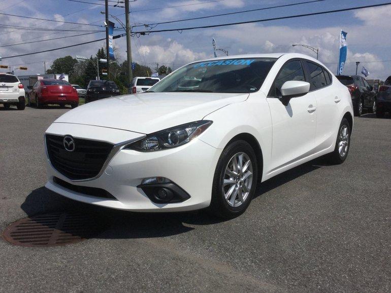 Mazda Mazda3 **RÉSERVÉ**,GS, TOIT, DÉMARREUR, SIEGES CHAUFFANTS 2015
