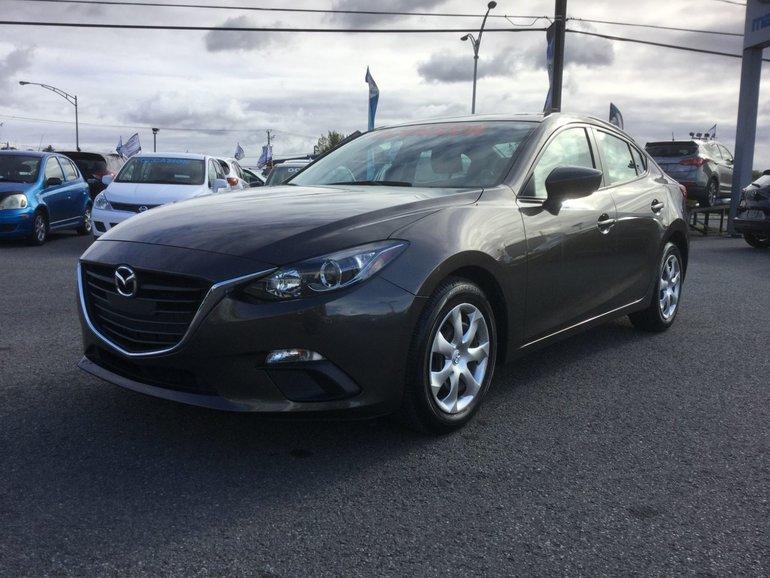 Mazda Mazda3 **RÉSERVÉ**, GX, BLUETOOTH, A/C, GROUPE ELECTRIQUE 2015