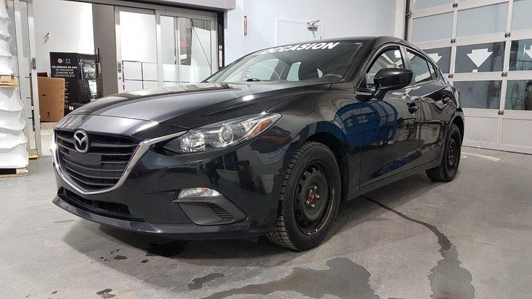 Mazda Mazda3 **RÉSERVÉ**,GS, SIEGES CHAUFFANTS, CAMÉRA DE RECUL 2015