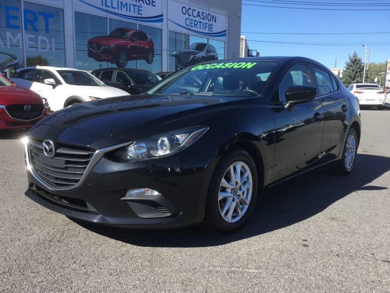 Mazda Mazda3 **RÉSERVÉ**,GS,NAVIGATION, TOIT, SIEGES CHAUFFANTS 2016